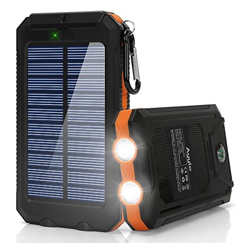 Ayyie Solar External Backup Battery Pack with Power Output