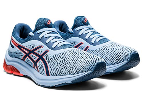 ASICS Women's Gel-Pulse 12 Monosock Running Shoes, 8.5M, Grand Shark/Grand Shark