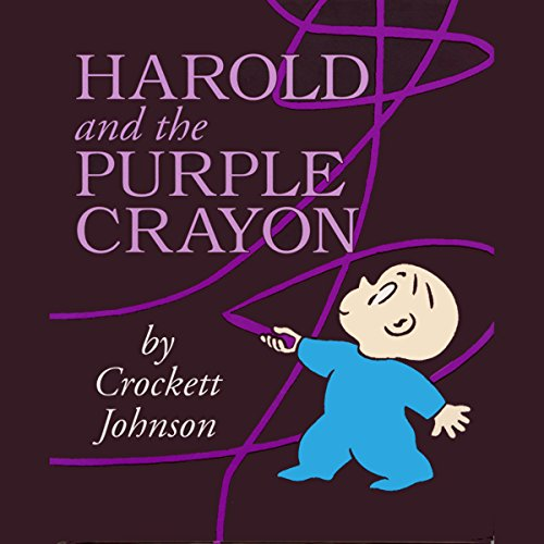 Harold & the Purple Crayon audiobook cover art