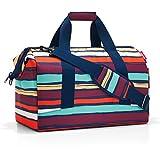 Reisenthel Artist Stripes Bolsa de viaje, 40 cm, 18 liters, Varios colores (Mehrfarbig Gestreift)