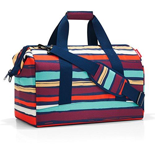 Reisenthel Artist Stripes Borsone, 40 cm, 18 liters, Multicolore (Mehrfarbig Gestreift)