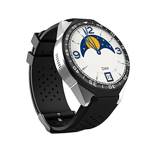 Smartwatch MTK6580 (1 G RAM+ 16 G ROM, 3 G, 1,3 GHz, Quad Cord, 28 nm, 1,39 Zoll, AMOLED GPS 3 g)