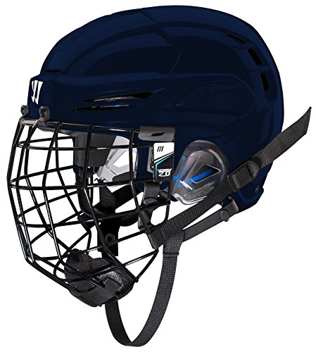 WARRIOR PXPHC6 Ice Hockey Players Helmet, Black, Medium