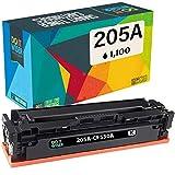Do it wiser Cartuchos de Tóner CF530A 205A Compatibles para Usar en Lugar de HP Color Laserjet Pro MFP M180n MFP M181fw MFP M180 MFP M180nw MFP M154a (Negro)