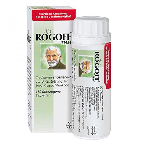 ILJA ROGOFF THM überzogene Tabletten 180 St
