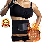 Sportneer Bauchweggürtel Fitnessgürtel, Schwitzgürtel, Verstellbarer Neopren-Fitness-Gürtel für...
