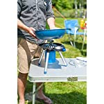 Campingaz Party Grill Gas Stove, Small Gas Grill and Camping Cooker in One, Camping Stove for Camping or Festivals, Versatile Cooking Options, Space-Saving to Transport