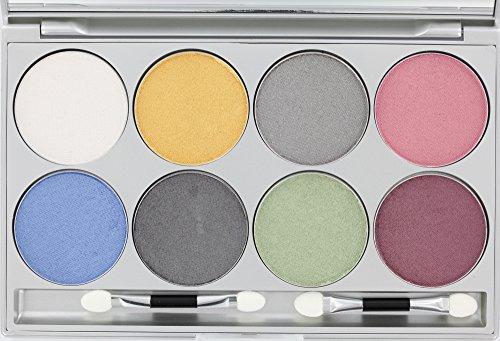 Kryolan Eye Shadow Set - 8 Farben