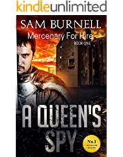 A Queen's Spy - Mercenary For Hire Book 1: A Hard-Hitting Historical Fiction Series - A Tale of Tudor Action and Adventure