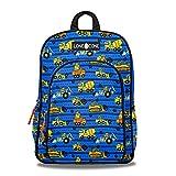LONECONE Kids' 15' Backpack for Boys & Girls in Preschool, Kindergarten, Construction Monsters