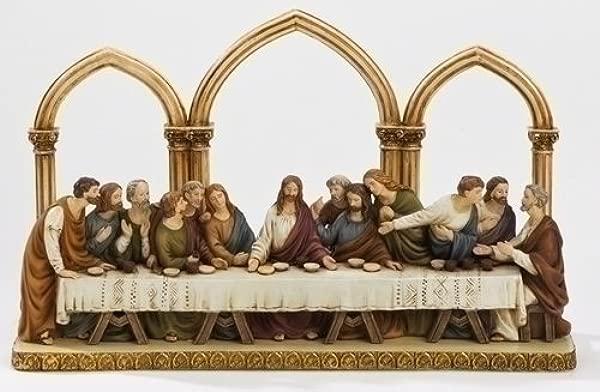 12 Last Supper Decorative Statue With Arches