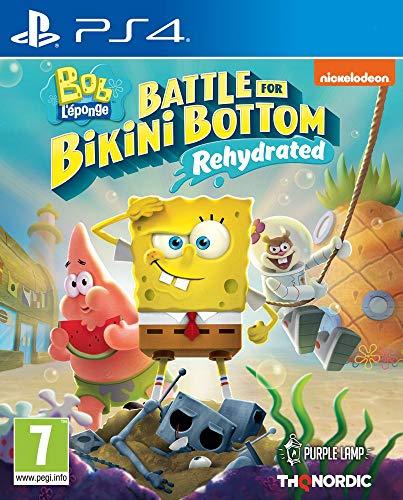 Spongebob Squarepants: Battle For Bikini Bottom - Rehydrated (Playstation 4)