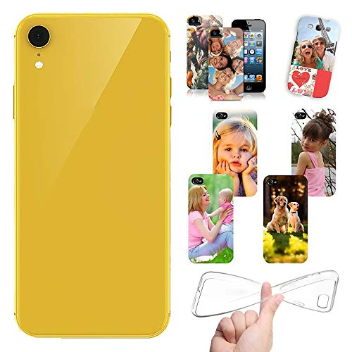 Stileitaliano Cover Personalizzata per iPhone XR personalizzabile con Foto Testi Disegni e Grafiche Personalizzate