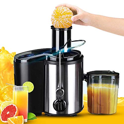Chewing juicer, 800W electric juicer + stainless steel fruit...