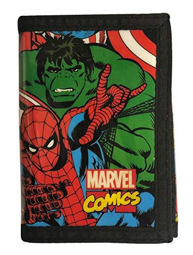 Marvel Comics Tri-Fold Credit Card Case/Wallet