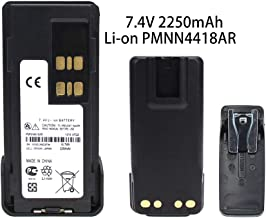 2250mAh PMNN4418 Replacement Battery for Motorola P6600 P6620 XPR 3000E XPR3300e XPR3500e DP2000e Series DP2400 DP2600 DEP 550e DEP 570e Two Way Radio Battery