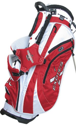 Purchase Tour Edge Exotics Xtreme Stand Bag (Red/White)