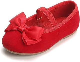 Bear Mall Girls' Shoes Girl's Ballerina Flat Shoes Mary Jane Dress Shoes (Little/Toddler Girls Shoes/Big Kids)(10 Toddler,...