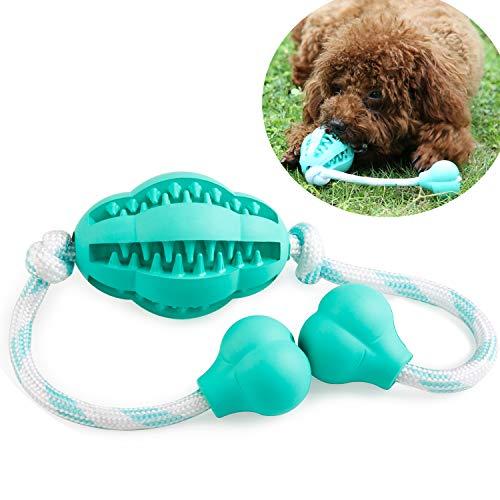 FRISTONE Hundespielzeug Welpen Kauspielzeug Intelligenz Ungiftiges Natürlich Strapazierfähigem Gummi für kleine mittelgroße Hunde Spielset
