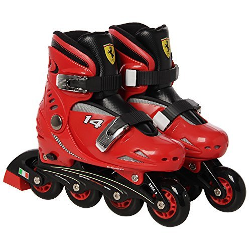 Ferrari Skate Inline FK7 Rojo Rojo Talla:33-36