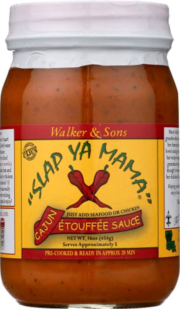 Slap Ya Mama Cajun Etouffee Sauce 16 Per oz 2 Large discharge sale each Items Order Excellence