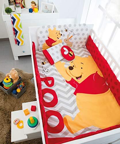 Set de Edredón Cama Cuna Corral (Winnie The Pooh)