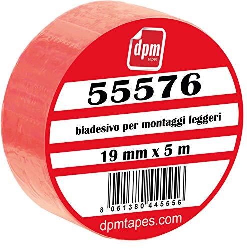 Tesa - 55576 - Biadesivo In Schiuma Per Montaggi Leggeri (19 mm x 5 m) - 1 pezzo