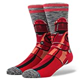 Stance Star Wars Red Guard Calcetines, Unisex Adulto, Rot/Grau/Schwarz, 43-46