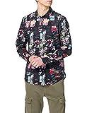 Desigual CAM_Abelardo Camiseta, Negro, M para Hombre