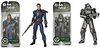 Fallout Lone Wanderer and Power Armor Legacy Collection Action Figures Set of 2