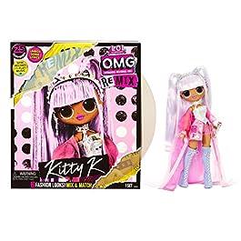 L.O.L. Surprise! O.M.G. Remix – Avec 25 Surprises – A collectionner Poupée mannequin, Vêtements & Accessoires – Kitty K