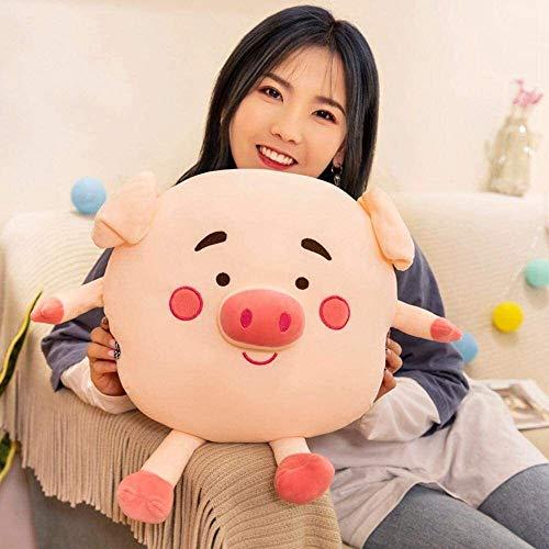 FANPING Pig Plush Pillow, Stuffed Emoji Emoticon Super Soft Cushion Cute Piggy Toy Doll Hugging Toys