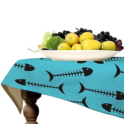 Mantel rectangular de lino para mesa de cocina, comedor, decoración de mesa, 57 x 89 pulgadas