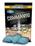 Walex CMDOBG Commando Black Holding Tank Cleaner Drop-Ins, Ocean Mist Scent (1 Year Supply)