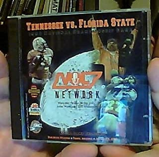 Tennessee Vs. Florida State 1998 National Championship Game: Actual Game Broadcast, Sun Devil Stadium, Tempe, Arizona, January 4, 1999 (Vol Network with the