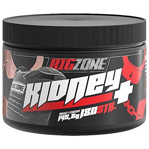 Big Zone Kidney+ | Unterstützung Nierenfunktion | Entgiftung | Niere Entgiftung | 180 Kapseln