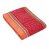 Bassetti Italiana In Algeri - Asciugamano in cotone, R1, 50 x 100 cm, colore: Rosso