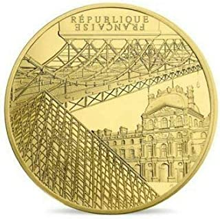 TGBCH UNESCO Banks of The Seine 50EUR Bridge of Arts France Gold Proof Coin Certified