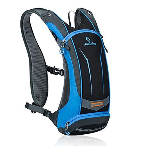 パラディニア(Paladineer)サイクリングバッグ 超軽量 自転車バックパック リュック 8L ブルー