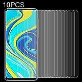 HDSCREENPROTECTOR+ / 10 PCS 0.26mm 9h Dureza de la superficie 2.5D película de vidrio templado a prueba de explosiones no llena de película for XIAOMI Redmi Note 9S , Película protectora de vidrio de