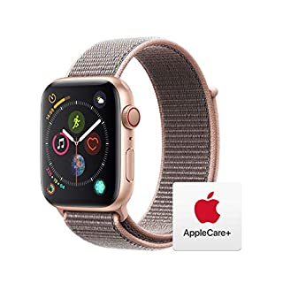 AppleWatch Series4 (GPS+Cellular, 44mm) - Gold Aluminum Case with Pink Sand Sport Loop with AppleCare+ Bundle (B07RNSGF3K) | Amazon price tracker / tracking, Amazon price history charts, Amazon price watches, Amazon price drop alerts