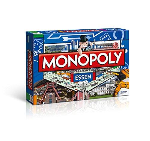 Monopoly Essen Stadt Edition - Das berühmte Spiel um den großen Deal!