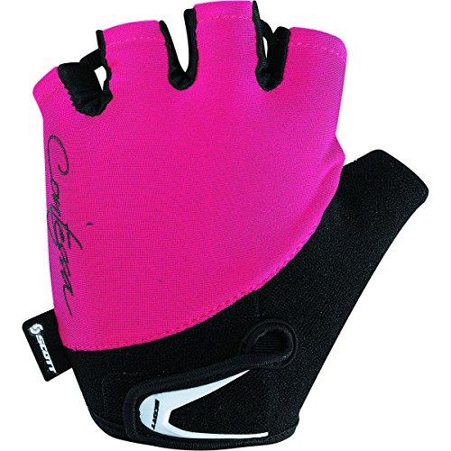 Scott Sports Womens Contessa Aspect Cycling Gloves - 227996 (Black/Raspberry Pink - S)