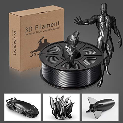 Wood PLA Filament, 1.75mm 3D Printer Filament, Wood 3D Printing 1KG Spool, Dimensional Accuracy +/- 0.02mm, Wood PLA