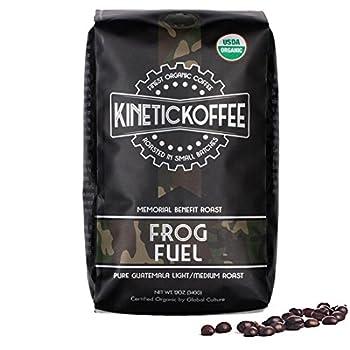 Kinetic Koffee - Frog Fuel - Pure Guatemala Light-Medium Roast - 12 0z - Whole Beans