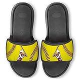 Repwell Slide Sandals | Softball Batter Silhouette | W7.5