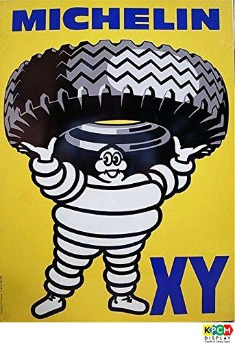 Michelin Tyers Retro Schild vintage, Bar, pub, Man Cave–Sticker Selbstklebend 300mm x 200mm x 200mm