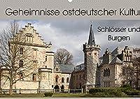 """Geheimnisse ostdeutscher Kultur - Schloesser und Burgen (Wandkalender 2022 DIN A2 quer): Wenn es in Deutschland ein """"Schloesser- und Burgenland"""" gibt, dann liegt das in Thueringen, aber auch in Sachsen-Anhalt. (Monatskalender, 14 Seiten )"""