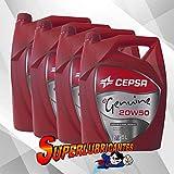CEPSA Genuine 20W50 4X5L(20Litros)