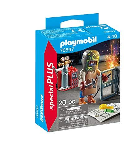 PLAYMOBIL Special Plus 70597 - Soldador con...